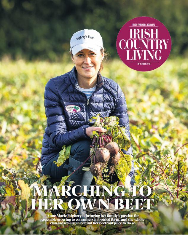 Irish Country Living Feigherys Farm Beetroot Juice